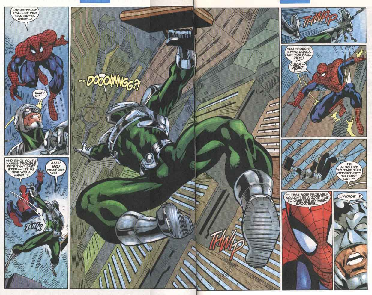 Read online The Sensational Spider-Man (1996) comic -  Issue #33 - 16