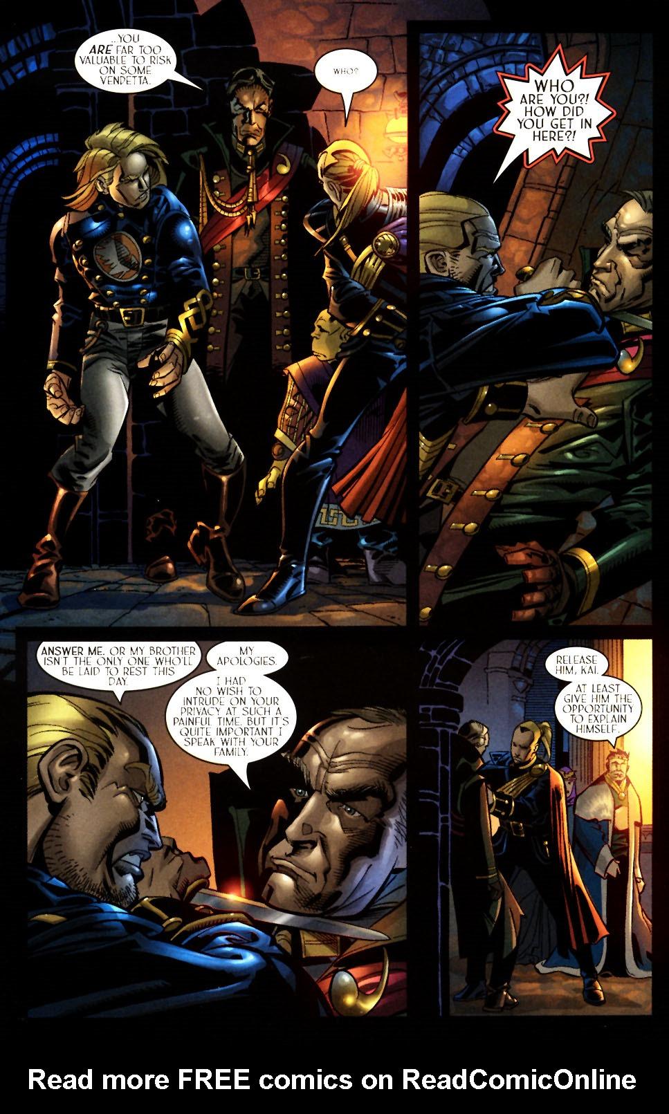 Read online Scion comic -  Issue #7 - 14