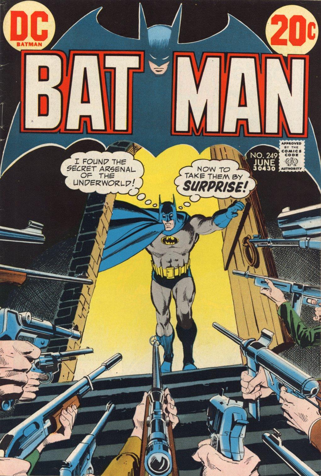 Batman (1940) 249 Page 1