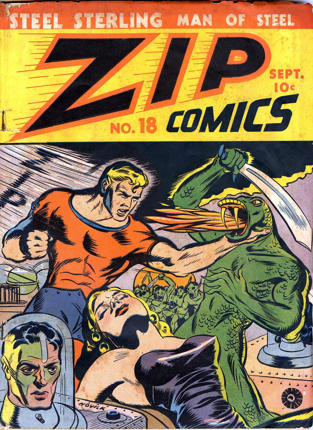 Zip Comics 18 Page 1