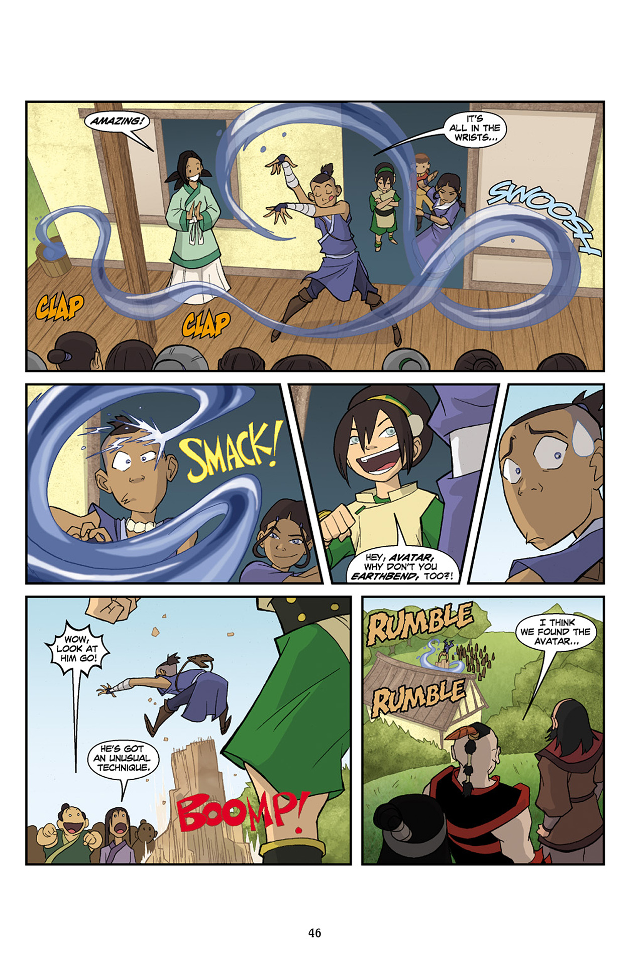 Nickelodeon Avatar: The Last Airbender - The Lost Adventures chap full pic 47