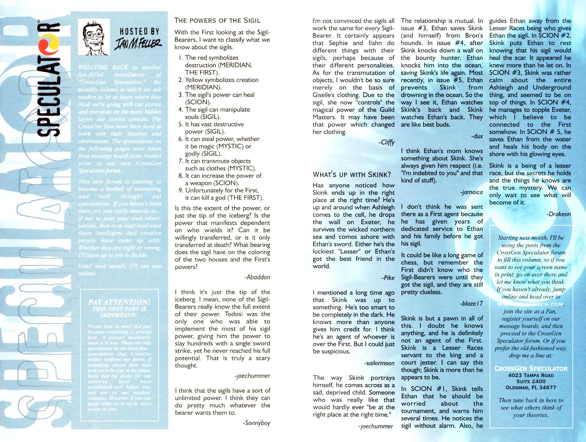 Read online Scion comic -  Issue #7 - 27