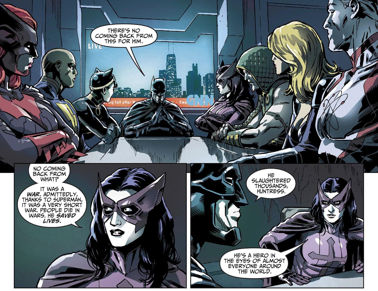 Injustice: Gods Among Us [I] Issue #25 #26 - English 7