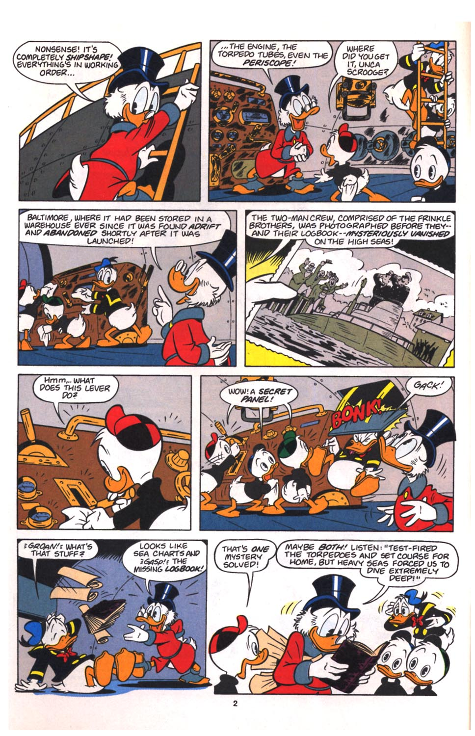 Uncle Scrooge (1953) Issue #260 #260 - English 3