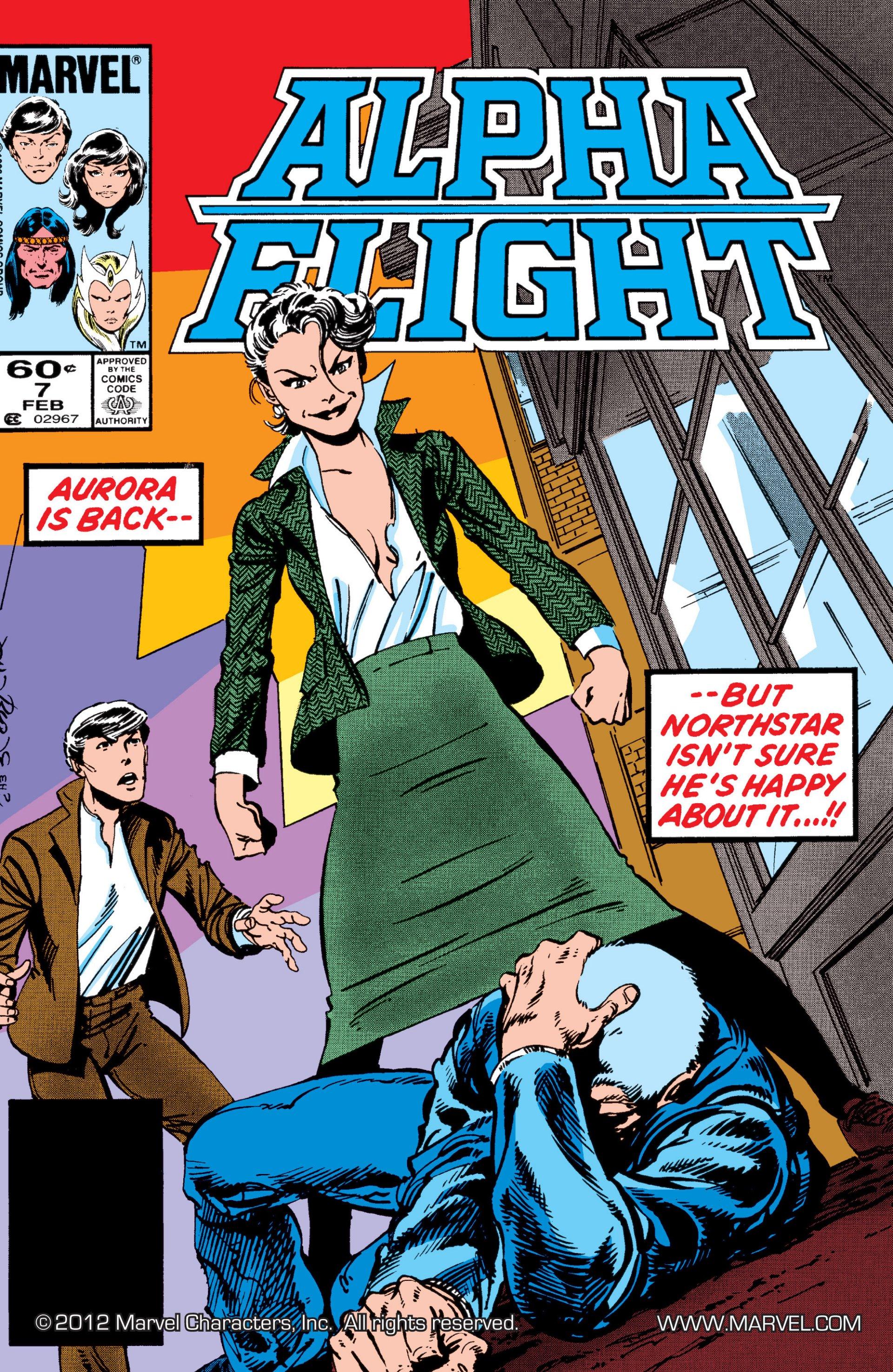 Alpha Flight (1983) 7 Page 1