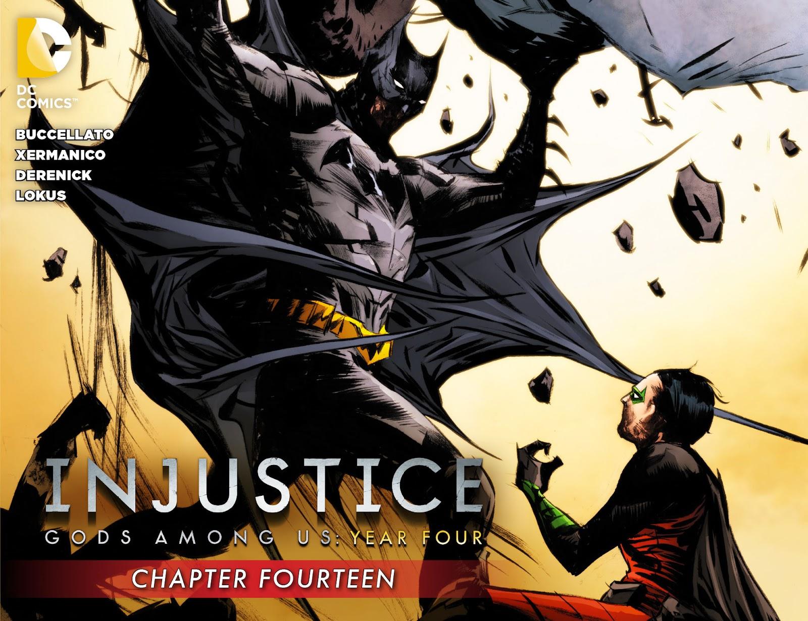 Injustice: Gods Among Us Year Four Issue #14 #15 - English 1