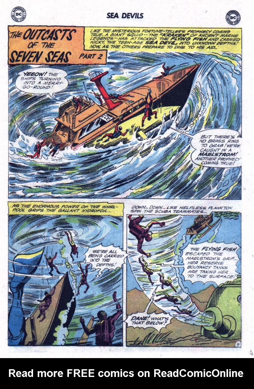 Read online Sea Devils comic -  Issue #23 - 13