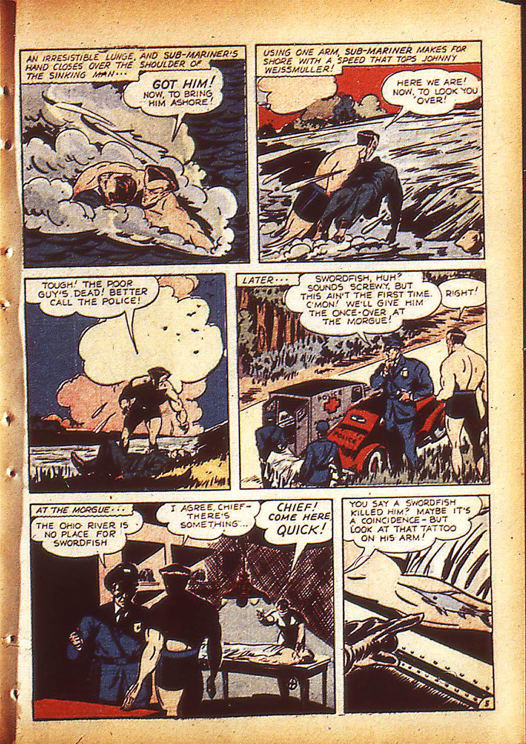 Sub-Mariner Comics Issue #10 #10 - English 8