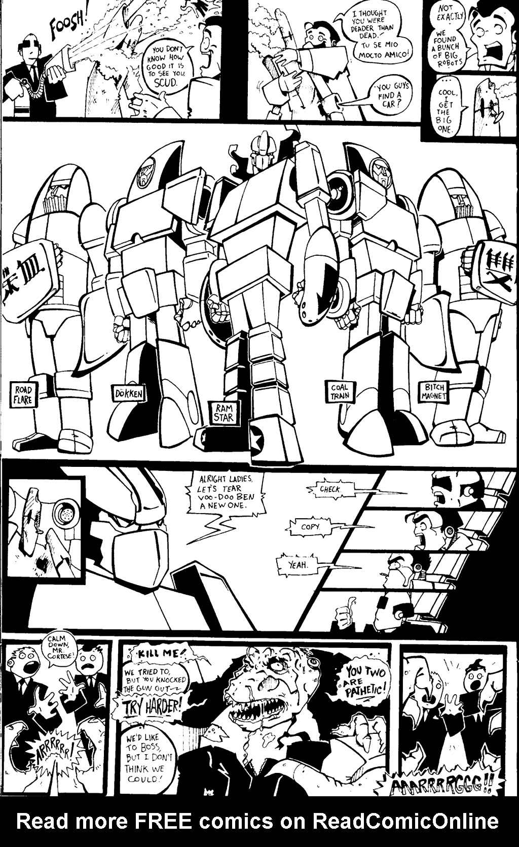 Read online Scud: The Disposable Assassin (1994) comic -  Issue #4 - 29