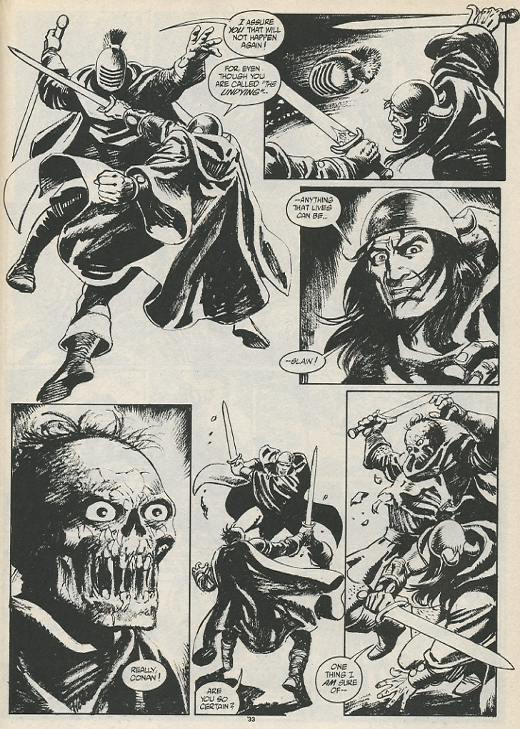 The Savage Sword Of Conan Issue #189 #190 - English 35