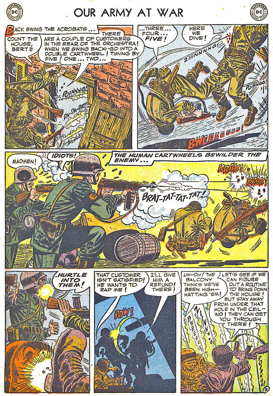 at War (1952) Issue #248 #301 - English 5