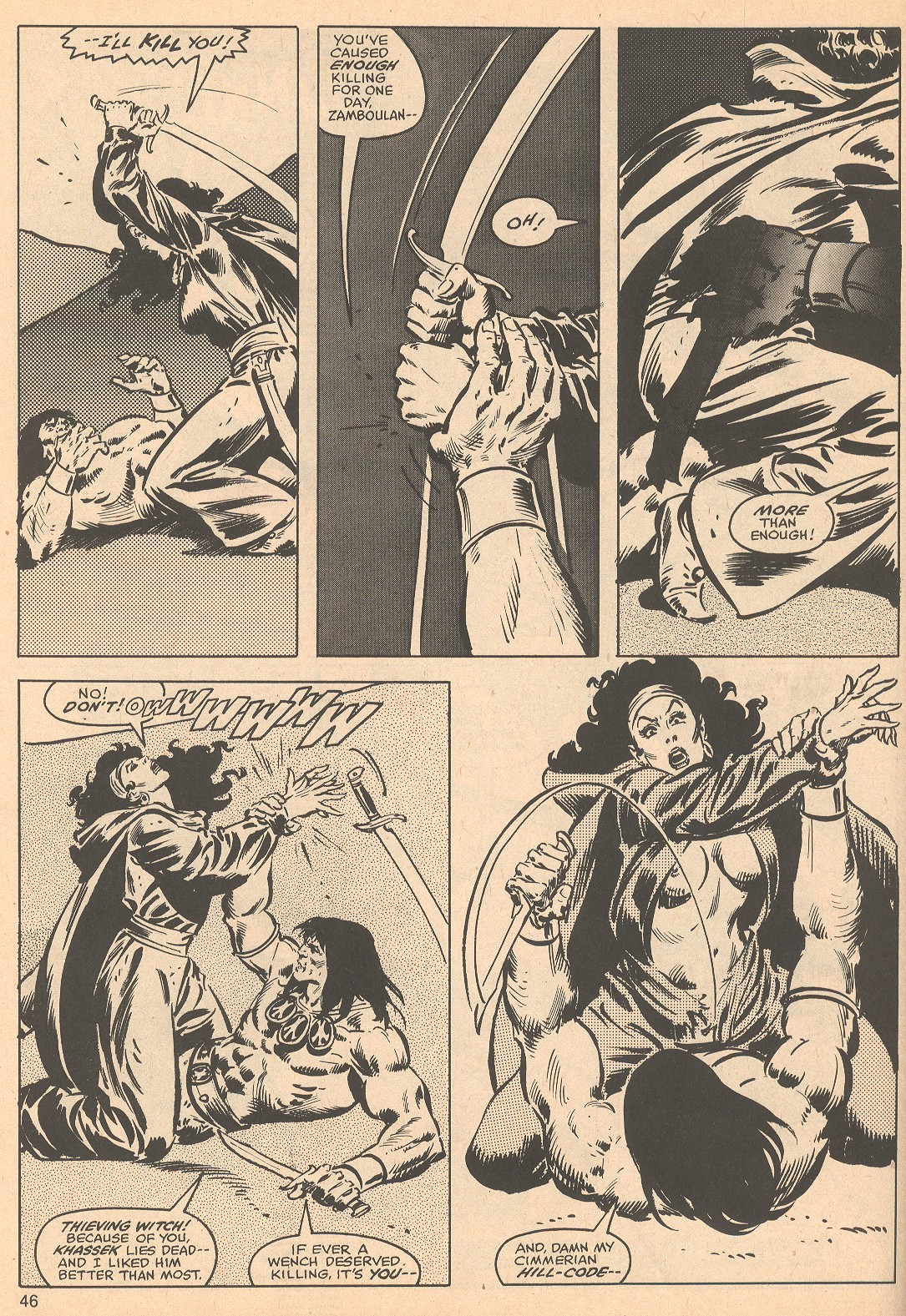 The Savage Sword Of Conan Issue #56 #57 - English 46
