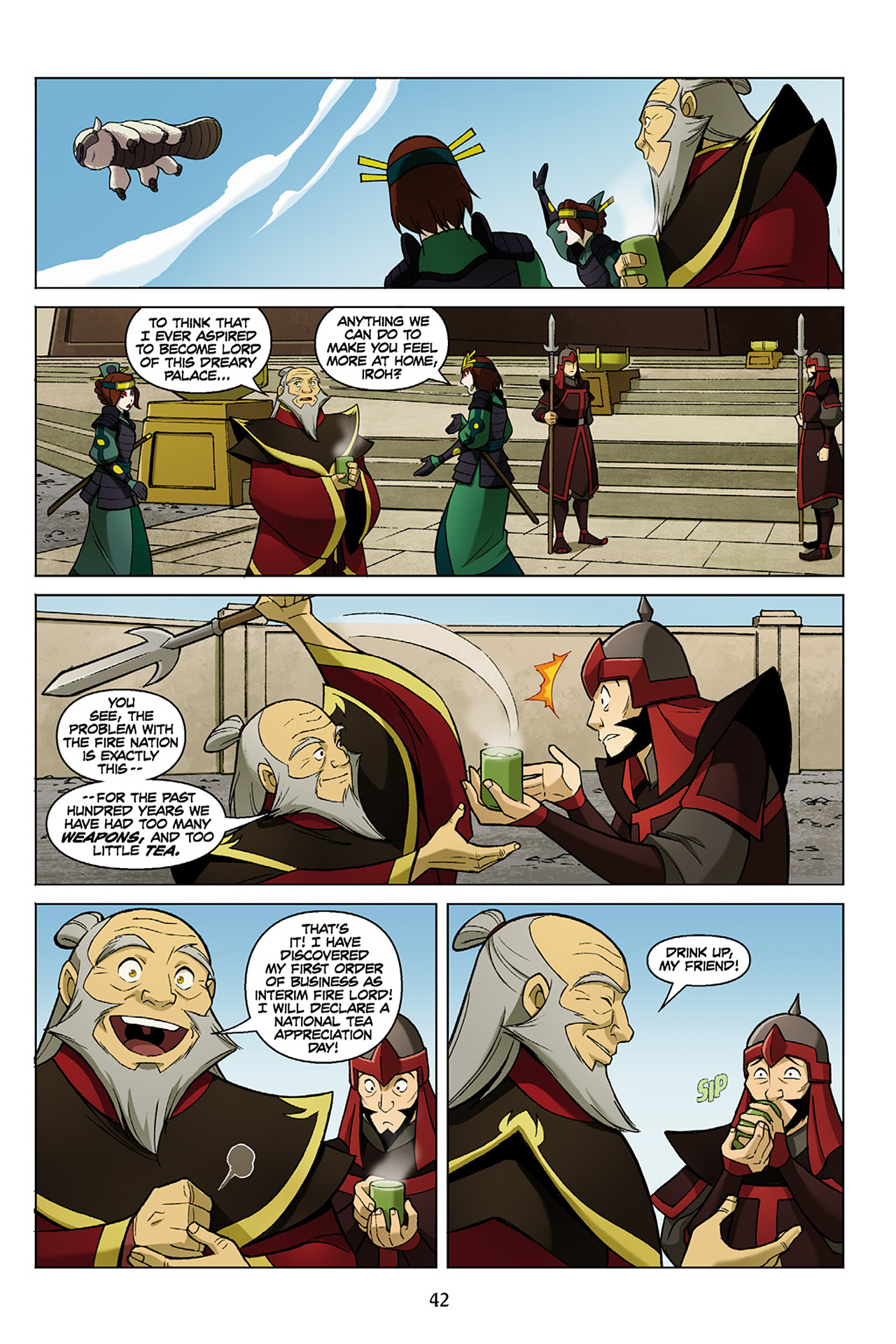 Read online Nickelodeon Avatar: The Last Airbender - The Search comic -  Issue # Part 1 - 43