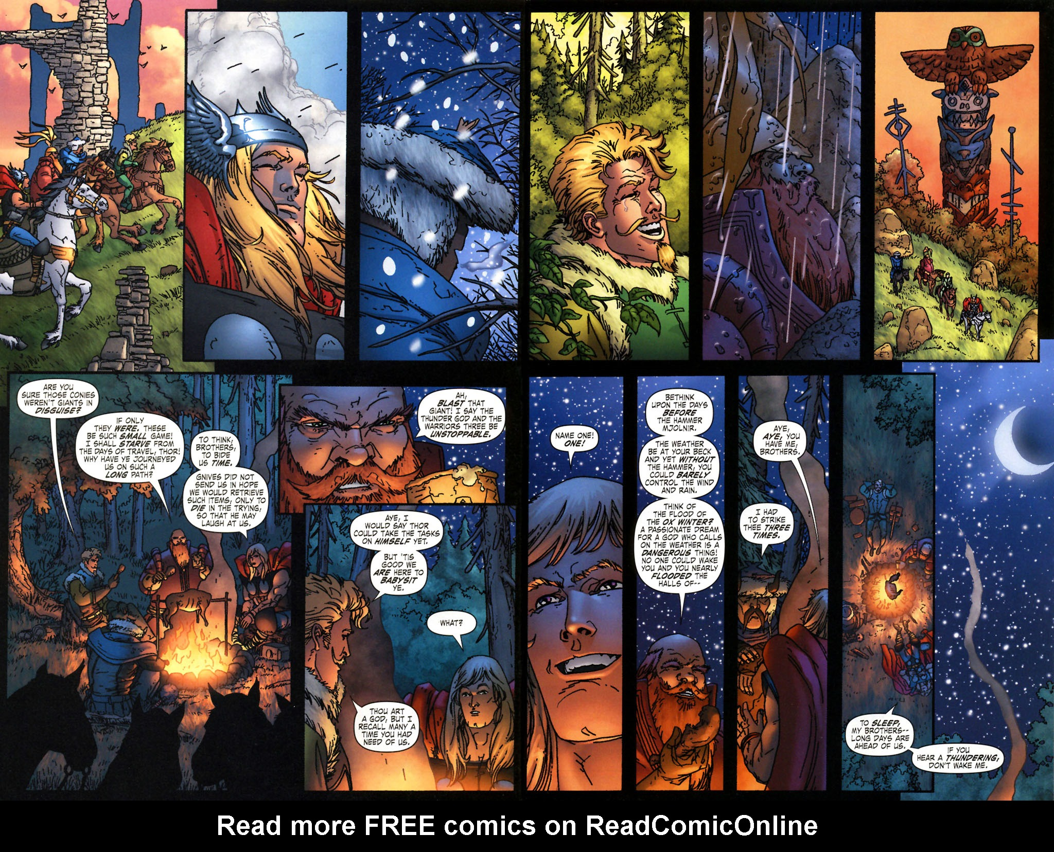 Read online Thor: Blood Oath comic -  Issue #2 - 3