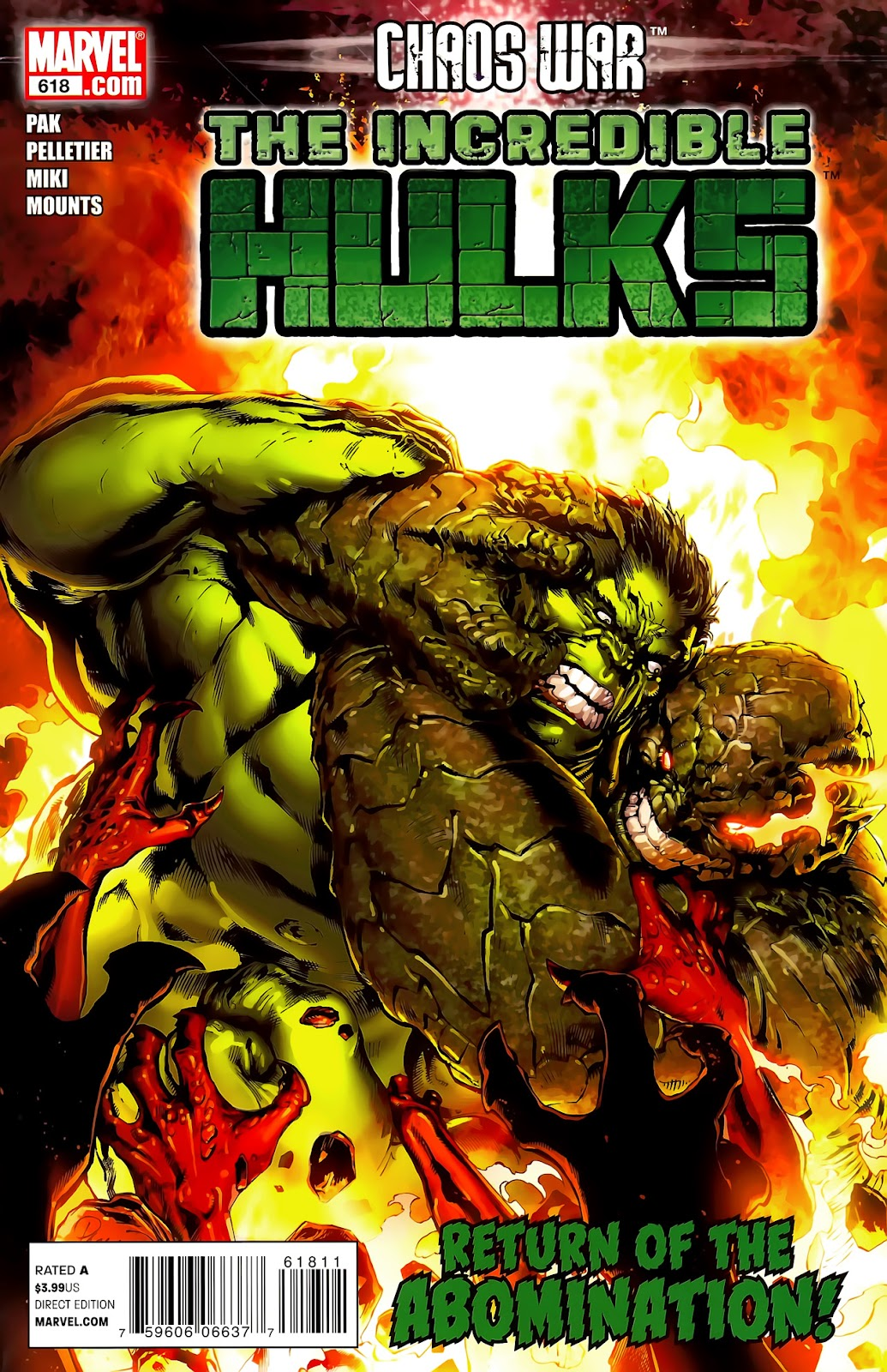 Incredible Hulks (2010) Issue #618 #8 - English 1