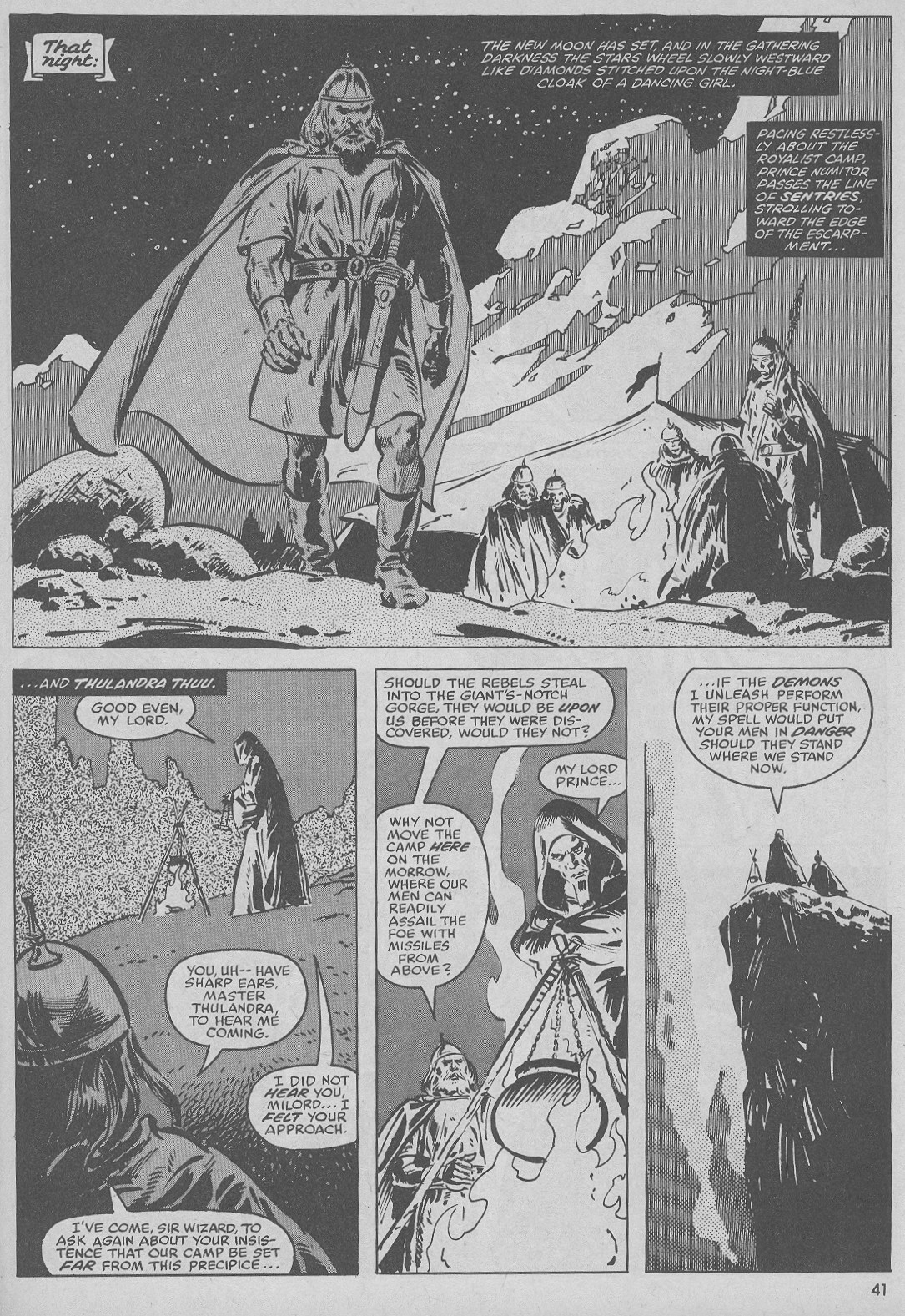 The Savage Sword Of Conan Issue #51 #52 - English 41