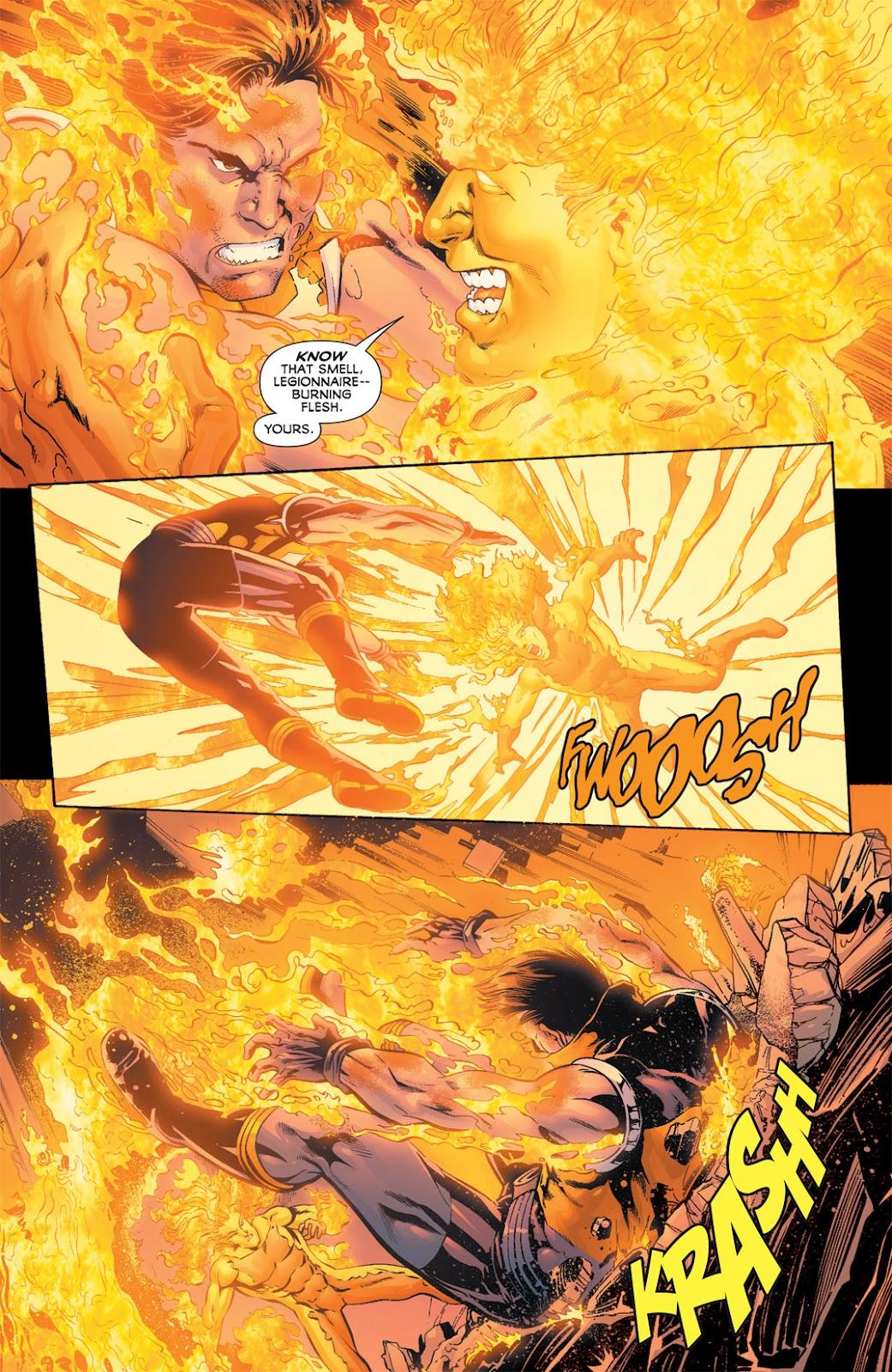 Legion of Super-Heroes (2010) Issue #11 #12 - English 17