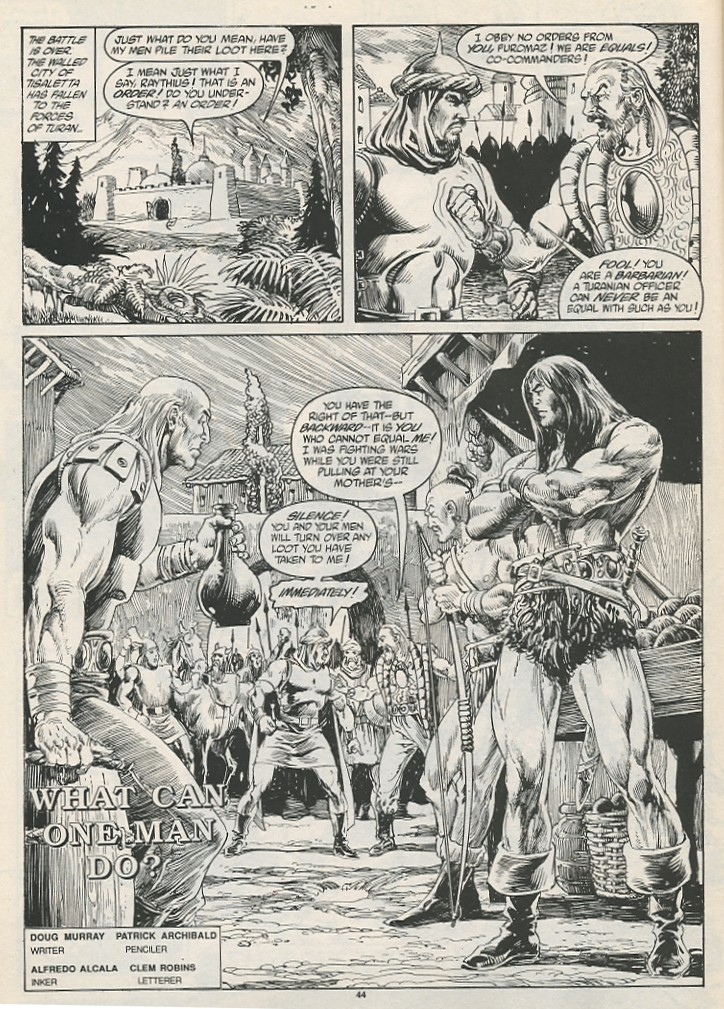 The Savage Sword Of Conan Issue #189 #190 - English 46