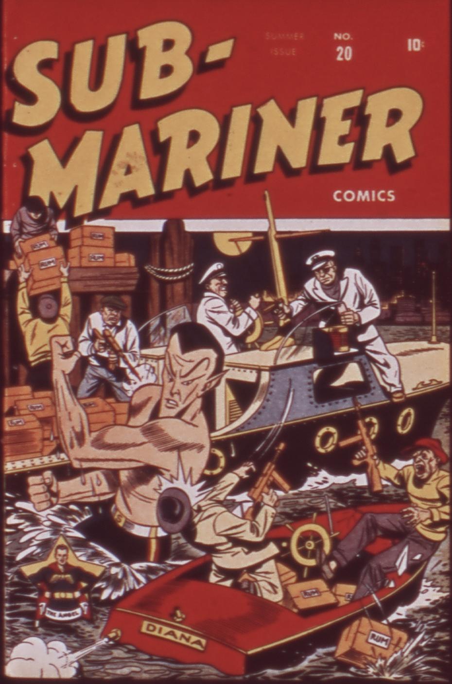Sub-Mariner Comics 20 Page 1