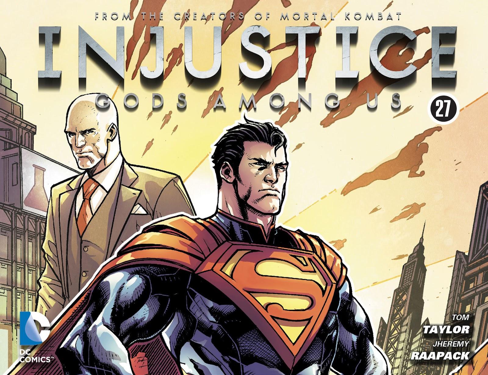 Injustice: Gods Among Us [I] Issue #27 #28 - English 1