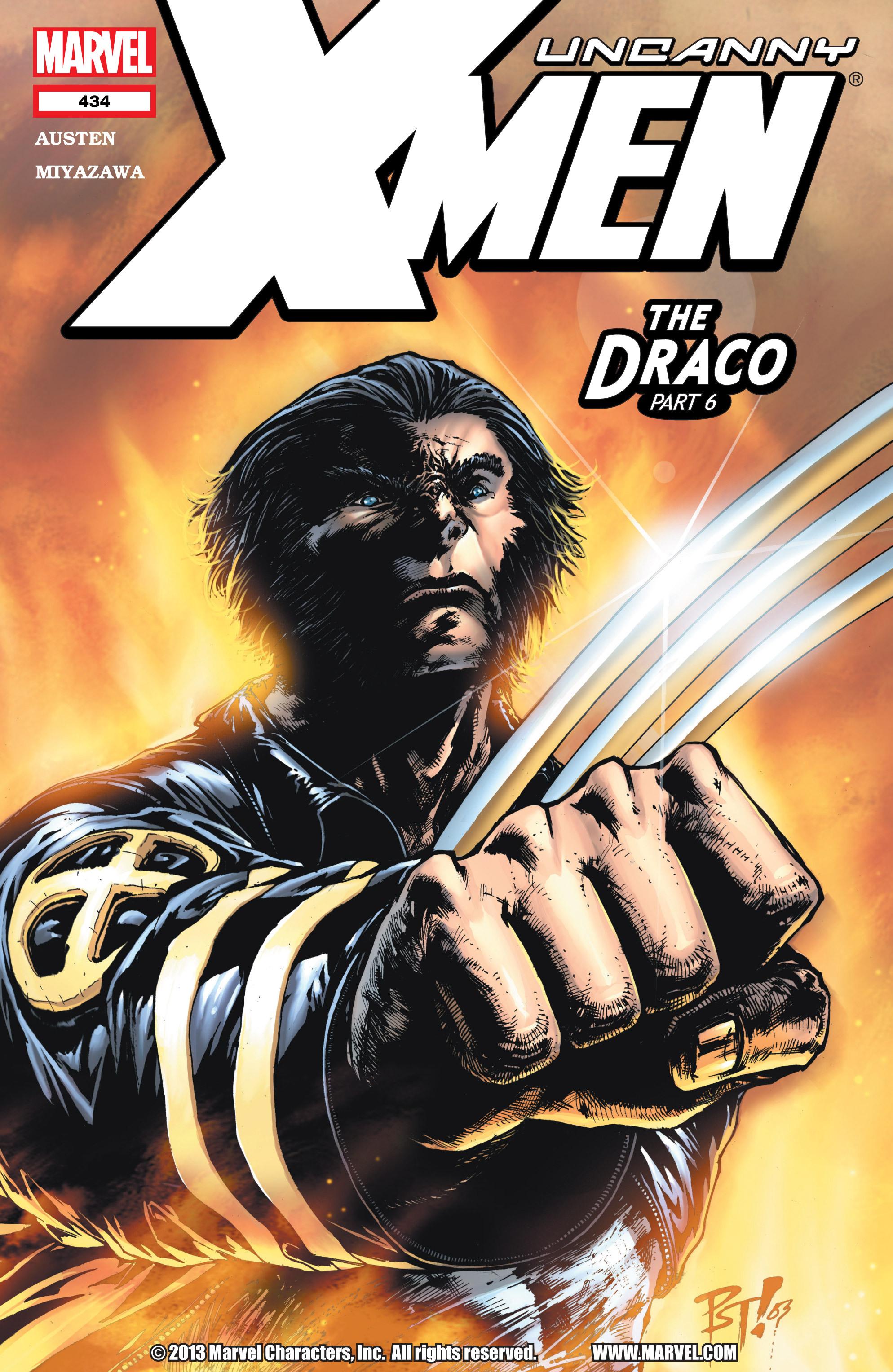 Uncanny X-Men (1963) 434 Page 1