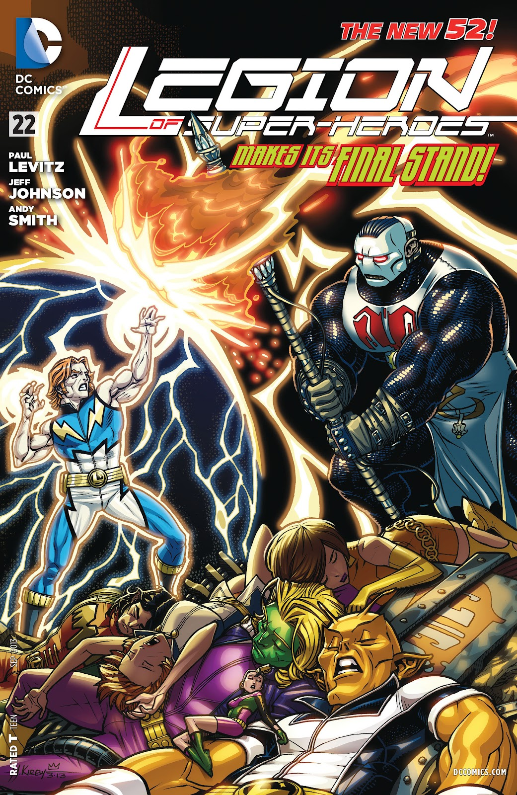 Legion of Super-Heroes (2011) Issue #22 #23 - English 1