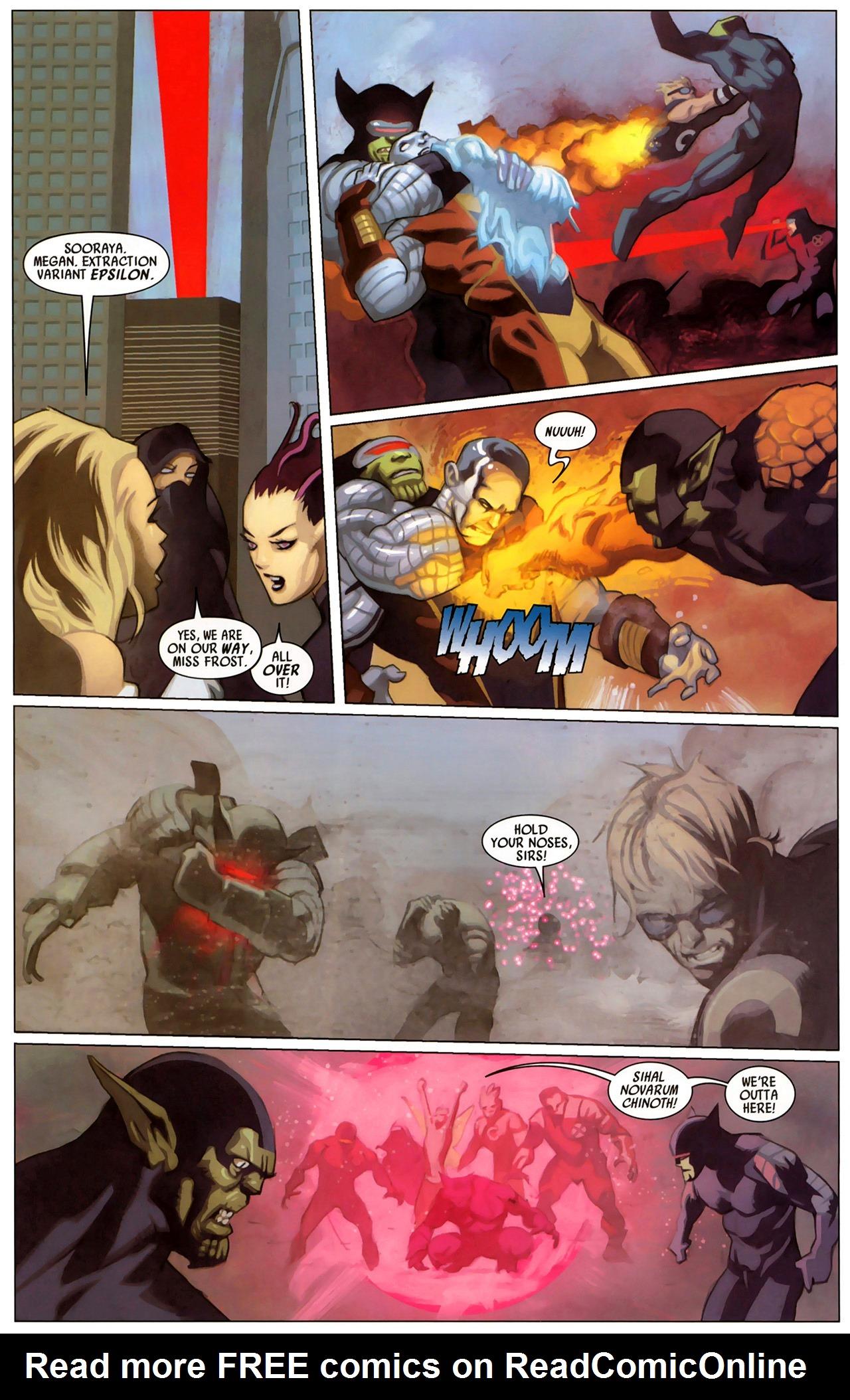 Read online Secret Invasion: X-Men comic -  Issue #2 - 5