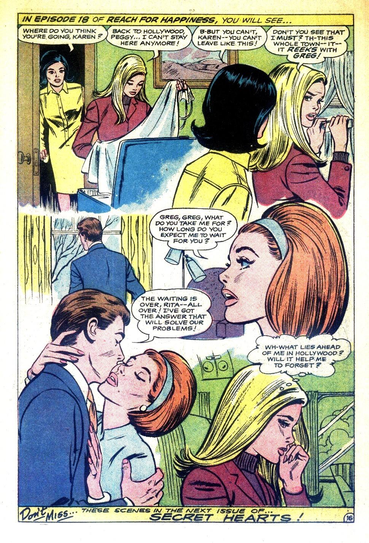 Read online Secret Hearts comic -  Issue #126 - 34