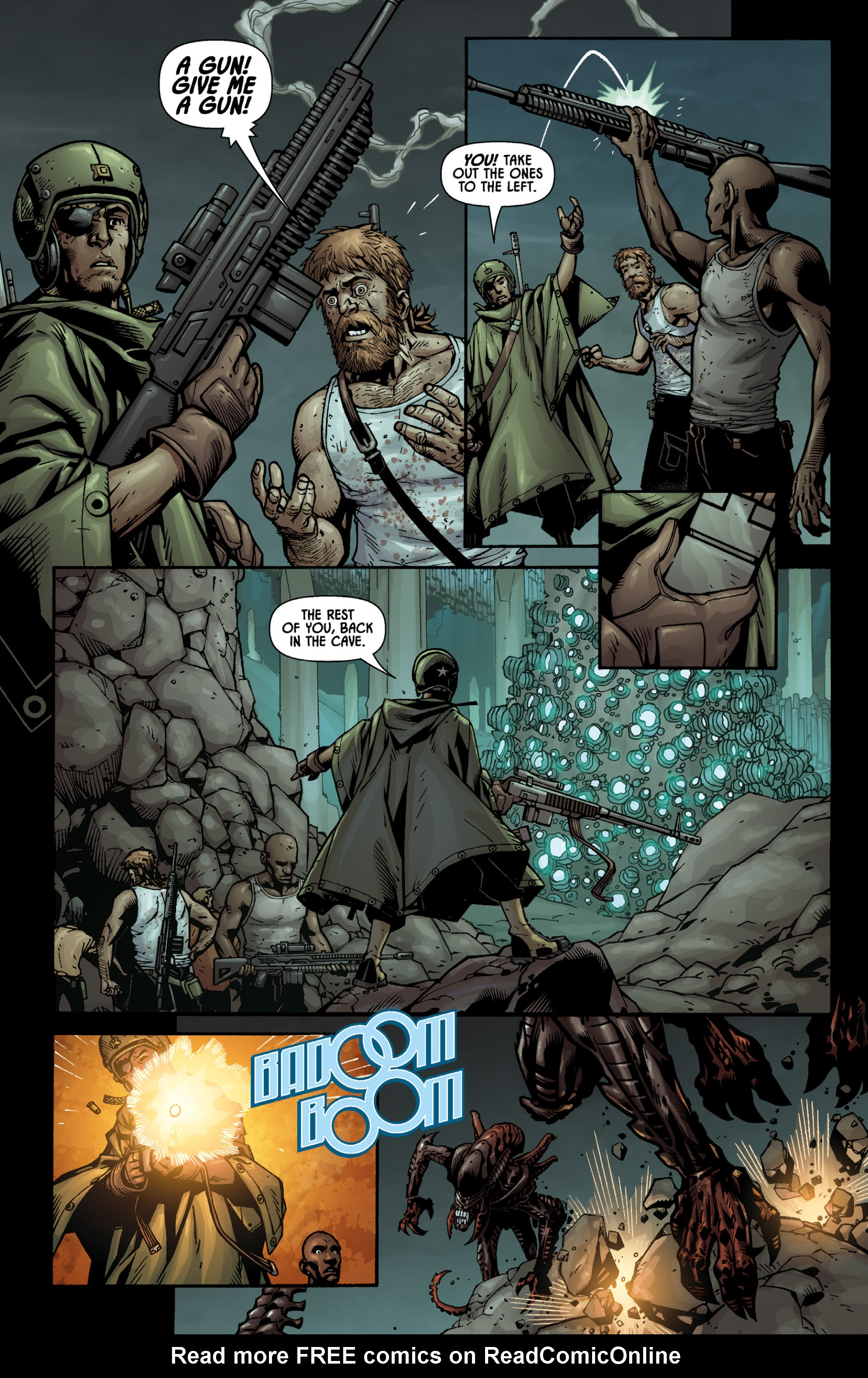 Aliens (2009) TPB Page 60