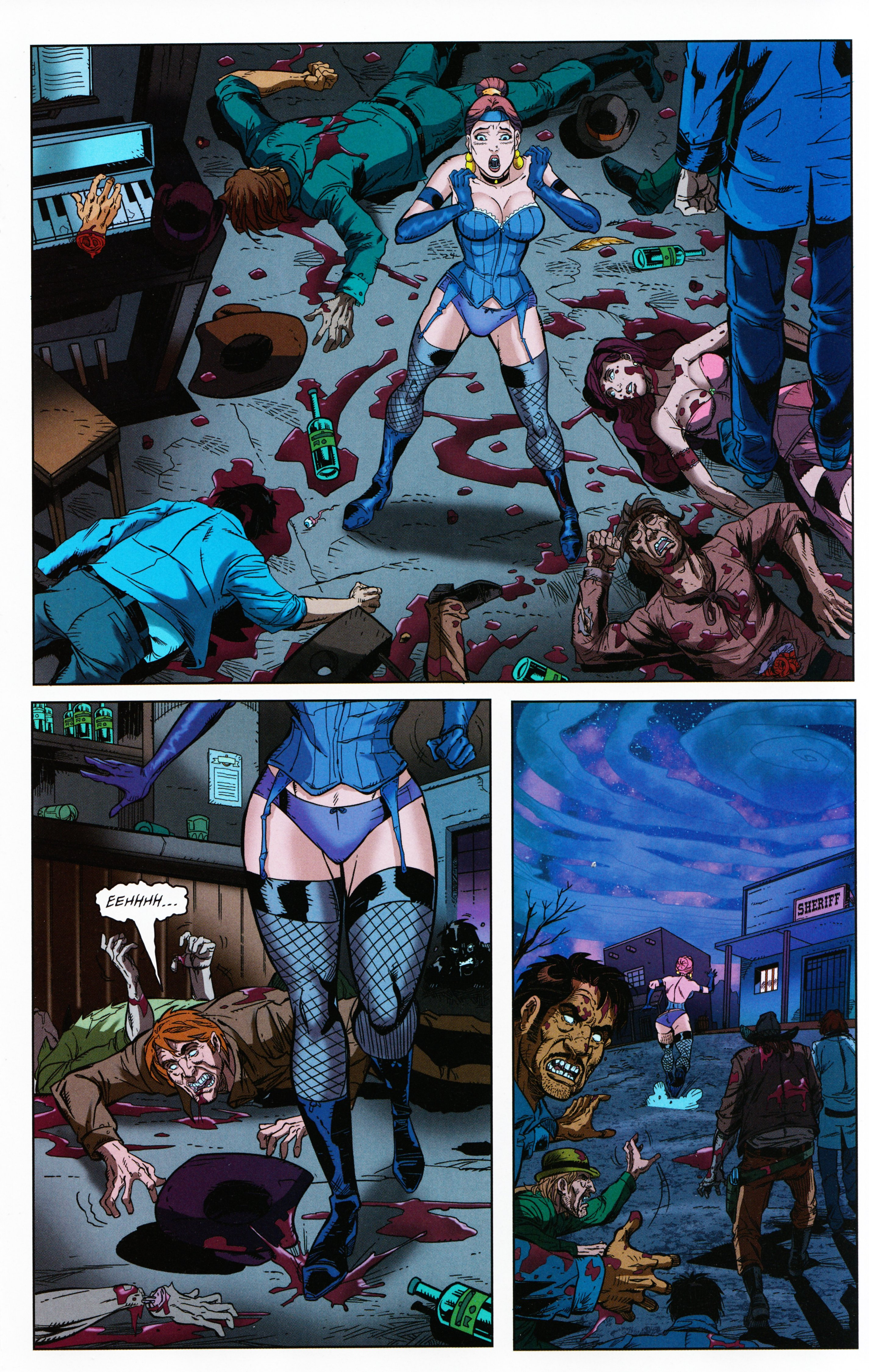 Read online Evil Dead 2: Tales of the Ex-Mortis comic -  Issue #3 - 19