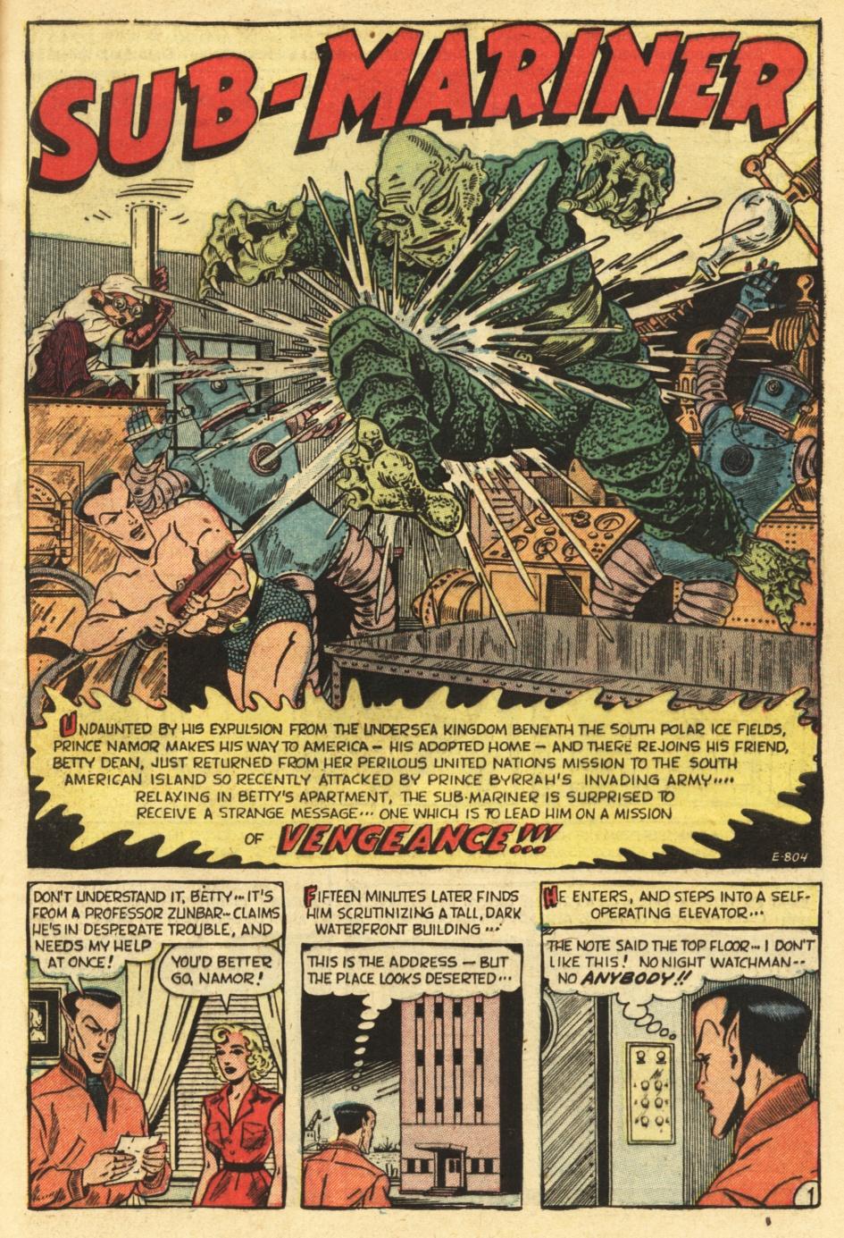 Sub-Mariner Comics #35 #35 - English 25
