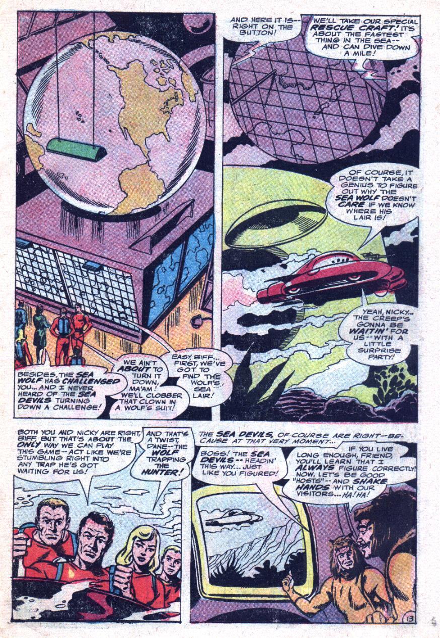 Read online Sea Devils comic -  Issue #33 - 20