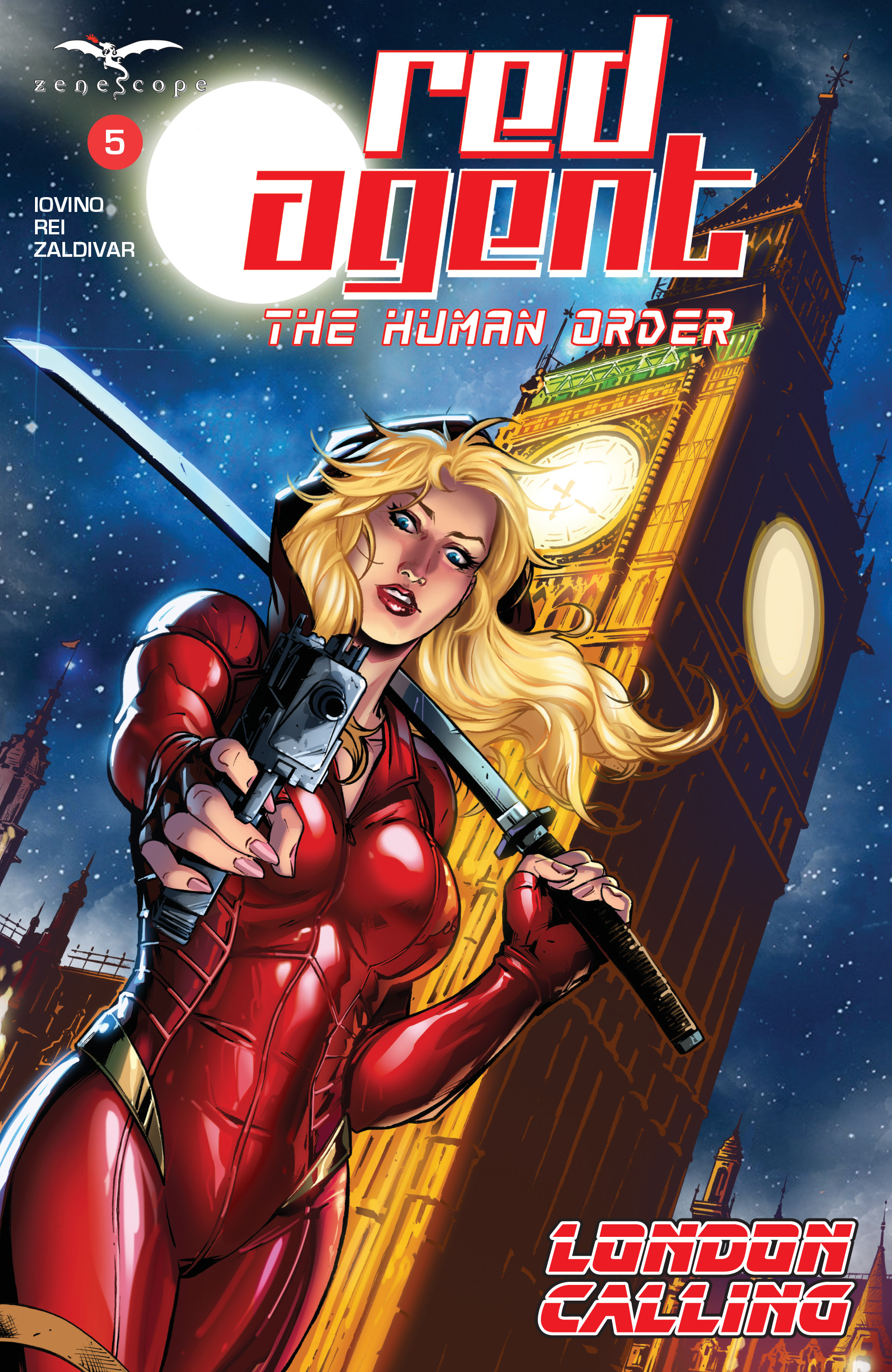 Grimm Fairy Tales presents Red Agent: The Human Order 5 Page 1