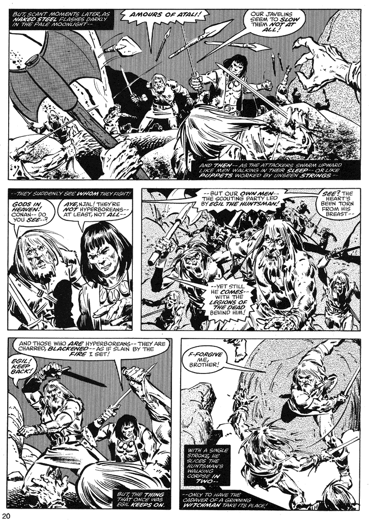 The Savage Sword Of Conan Issue #39 #40 - English 20