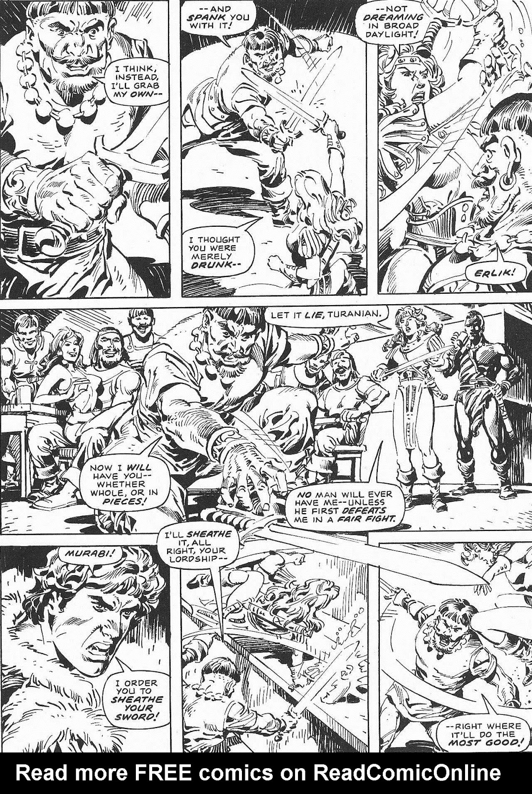 The Savage Sword Of Conan Issue #207 #208 - English 60