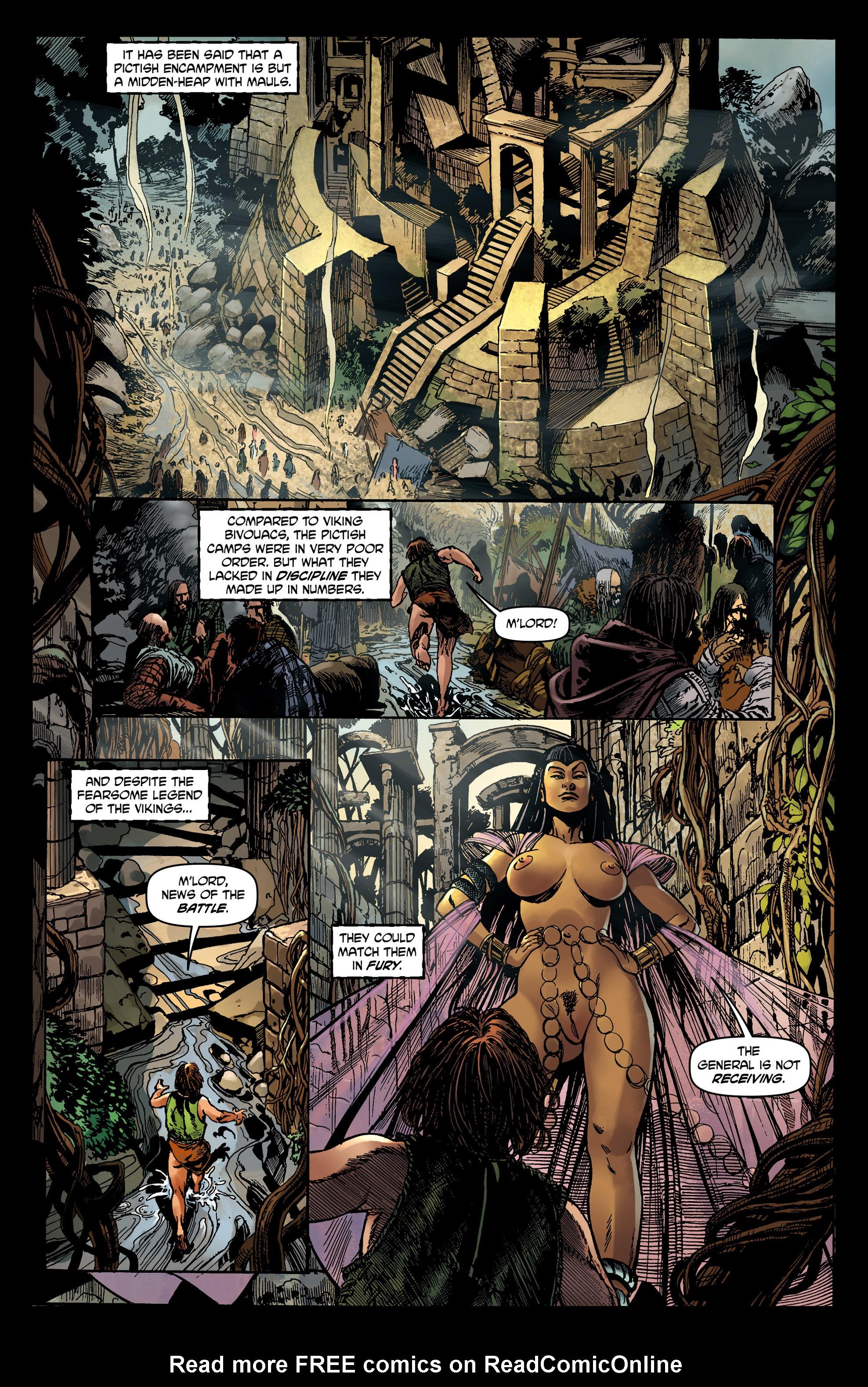 Read online Belladonna comic -  Issue #0 - 10