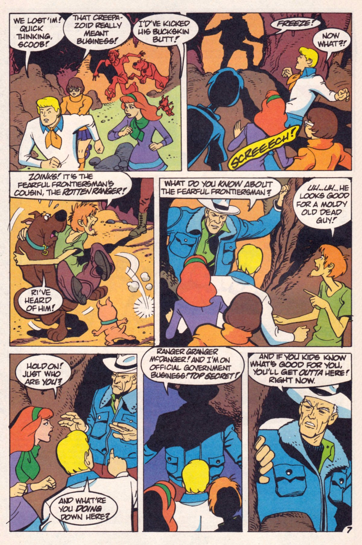 Read online Scooby-Doo (1995) comic -  Issue #12 - 9
