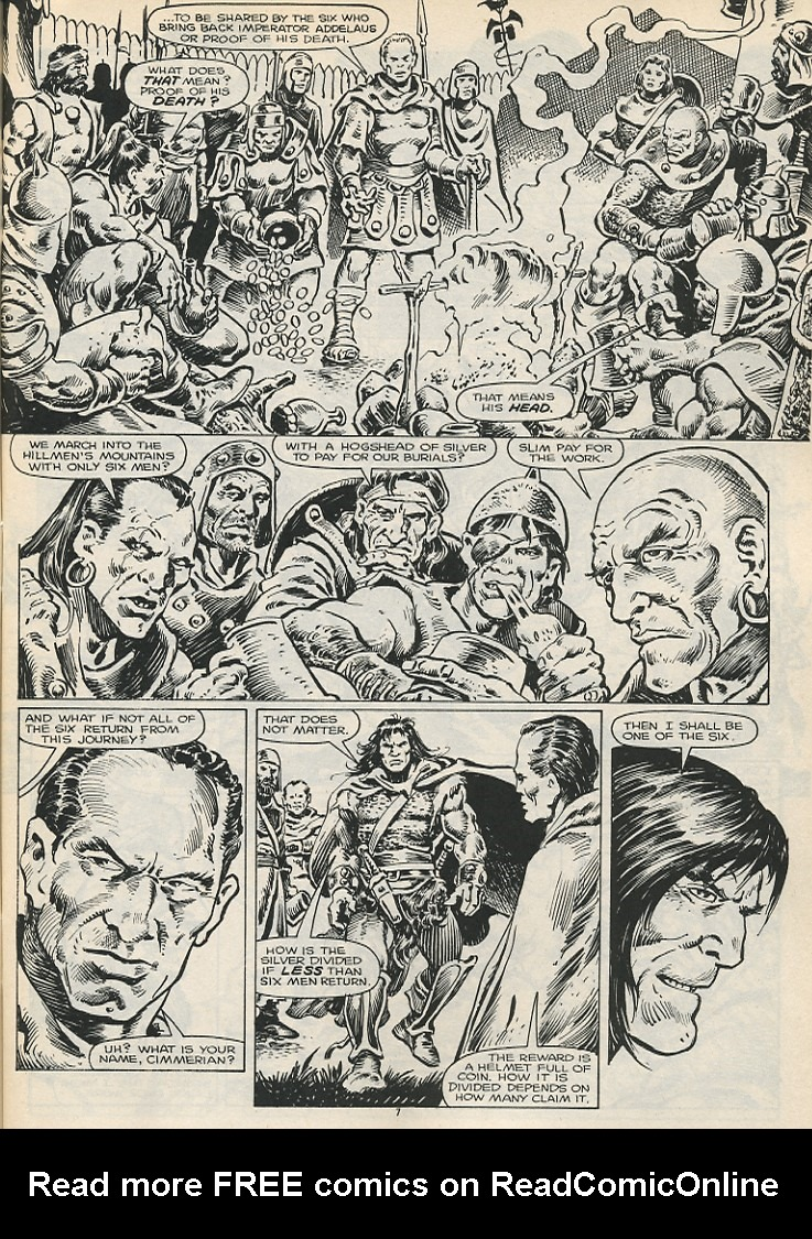 The Savage Sword Of Conan Issue #178 #179 - English 9