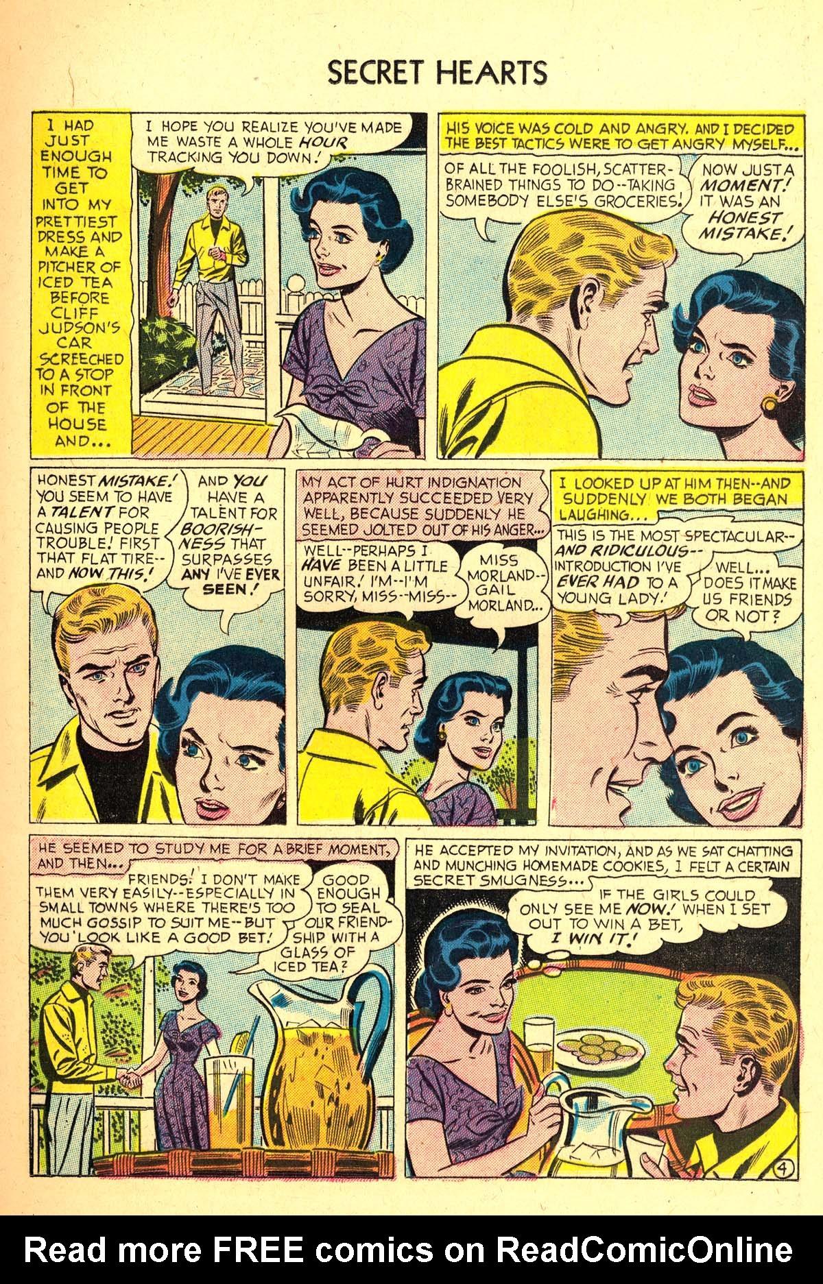 Read online Secret Hearts comic -  Issue #37 - 13