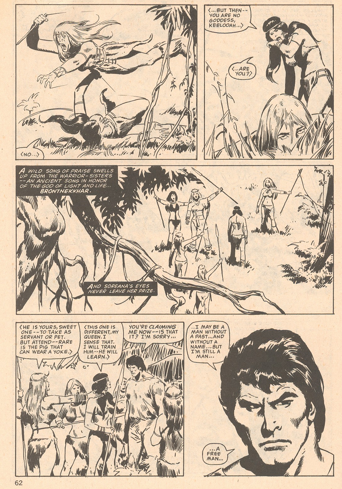 The Savage Sword Of Conan Issue #66 #67 - English 62