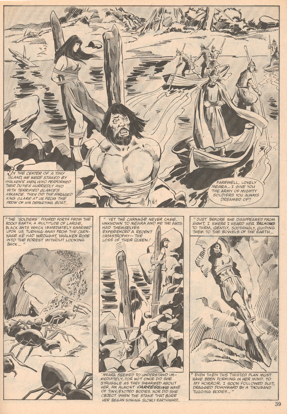 The Savage Sword Of Conan Issue #70 #71 - English 39
