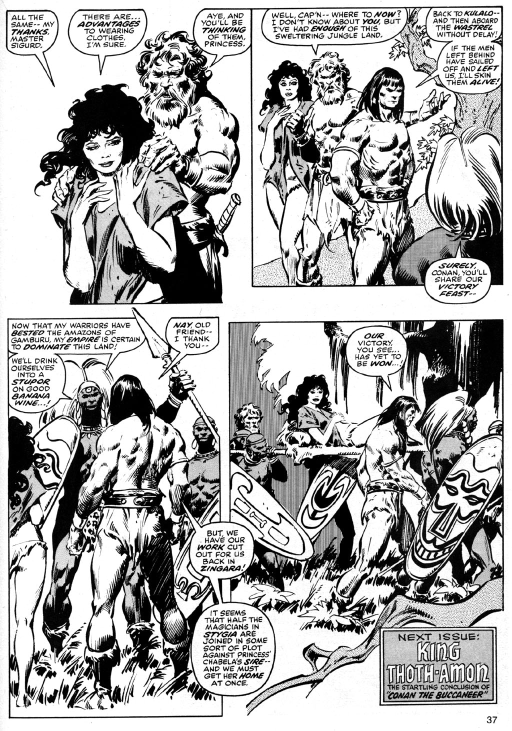 The Savage Sword Of Conan Issue #42 #43 - English 37