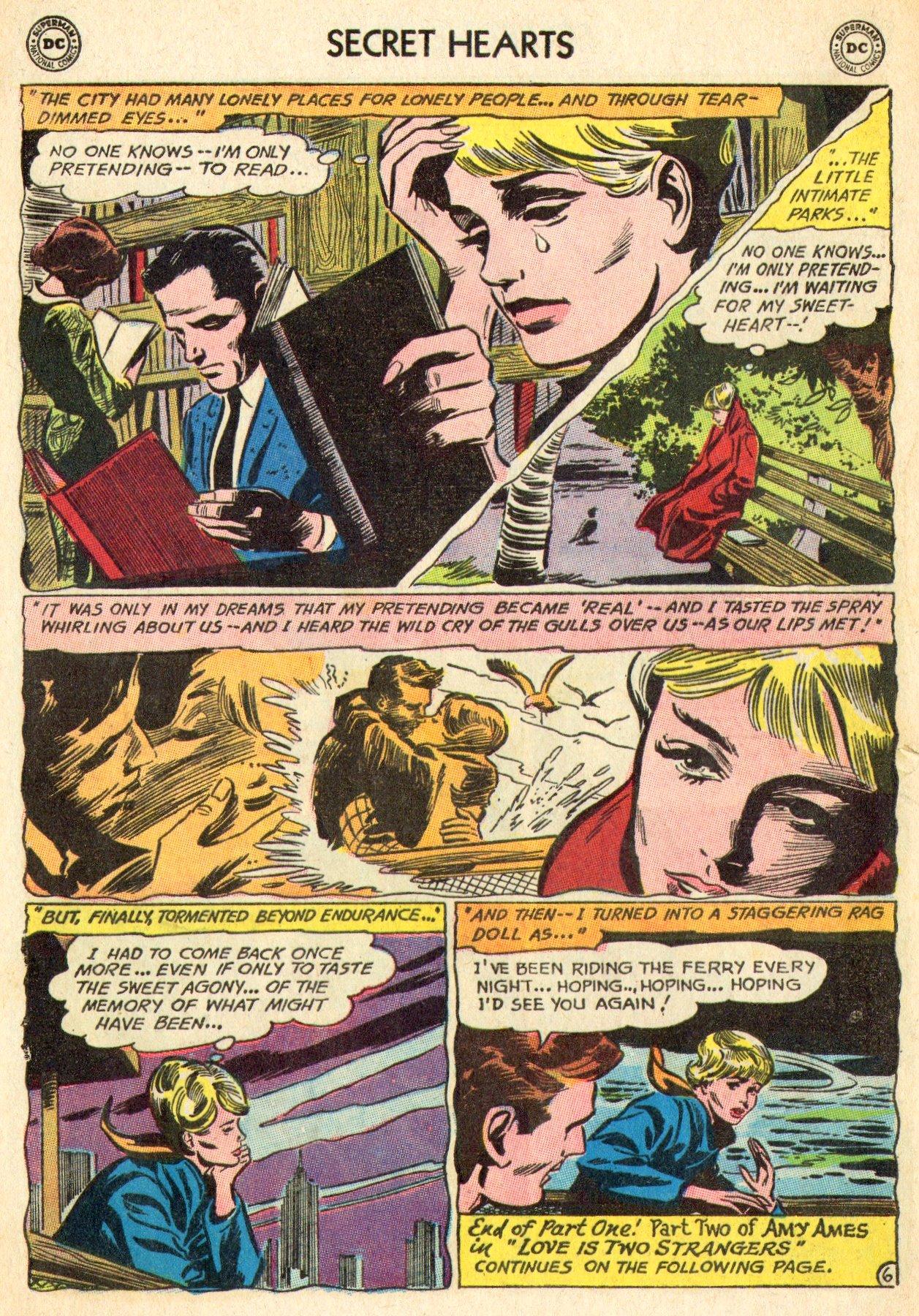 Read online Secret Hearts comic -  Issue #101 - 24