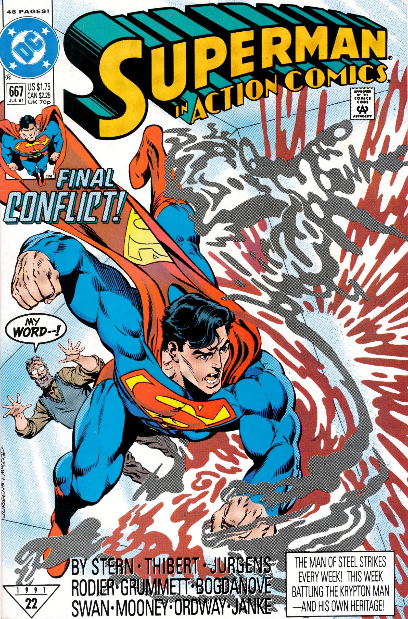 Action Comics (1938) 667 Page 1