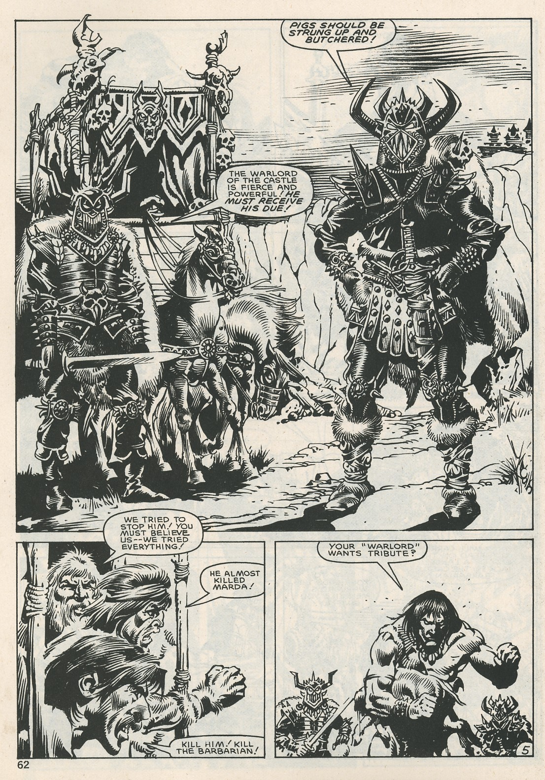 The Savage Sword Of Conan Issue #115 #116 - English 62