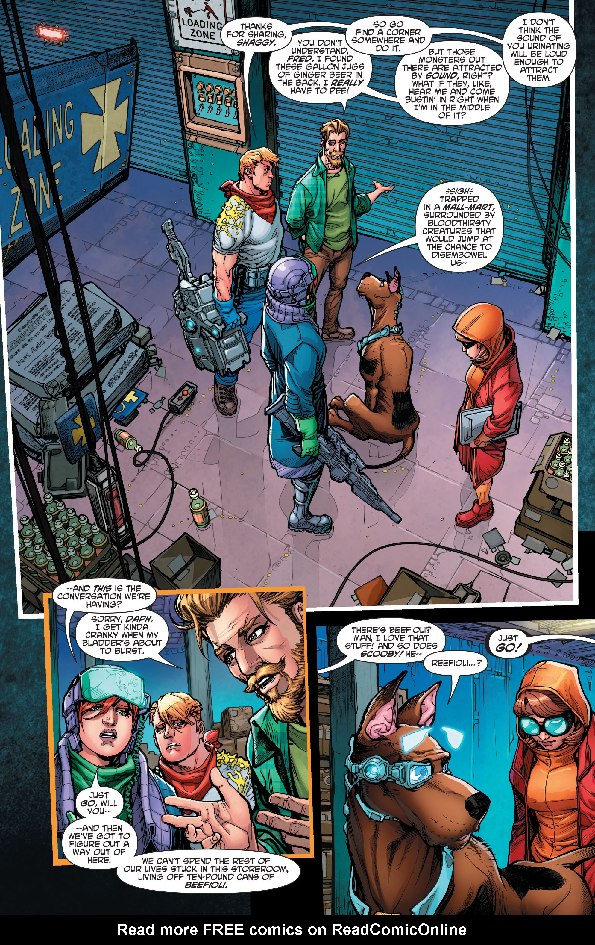 Read online Scooby Apocalypse comic -  Issue #7 - 5
