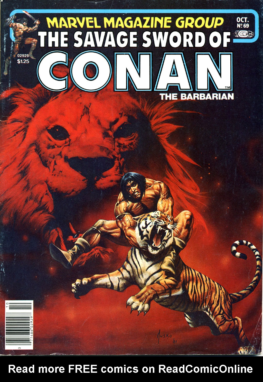 The Savage Sword Of Conan Issue #69 #70 - English 1