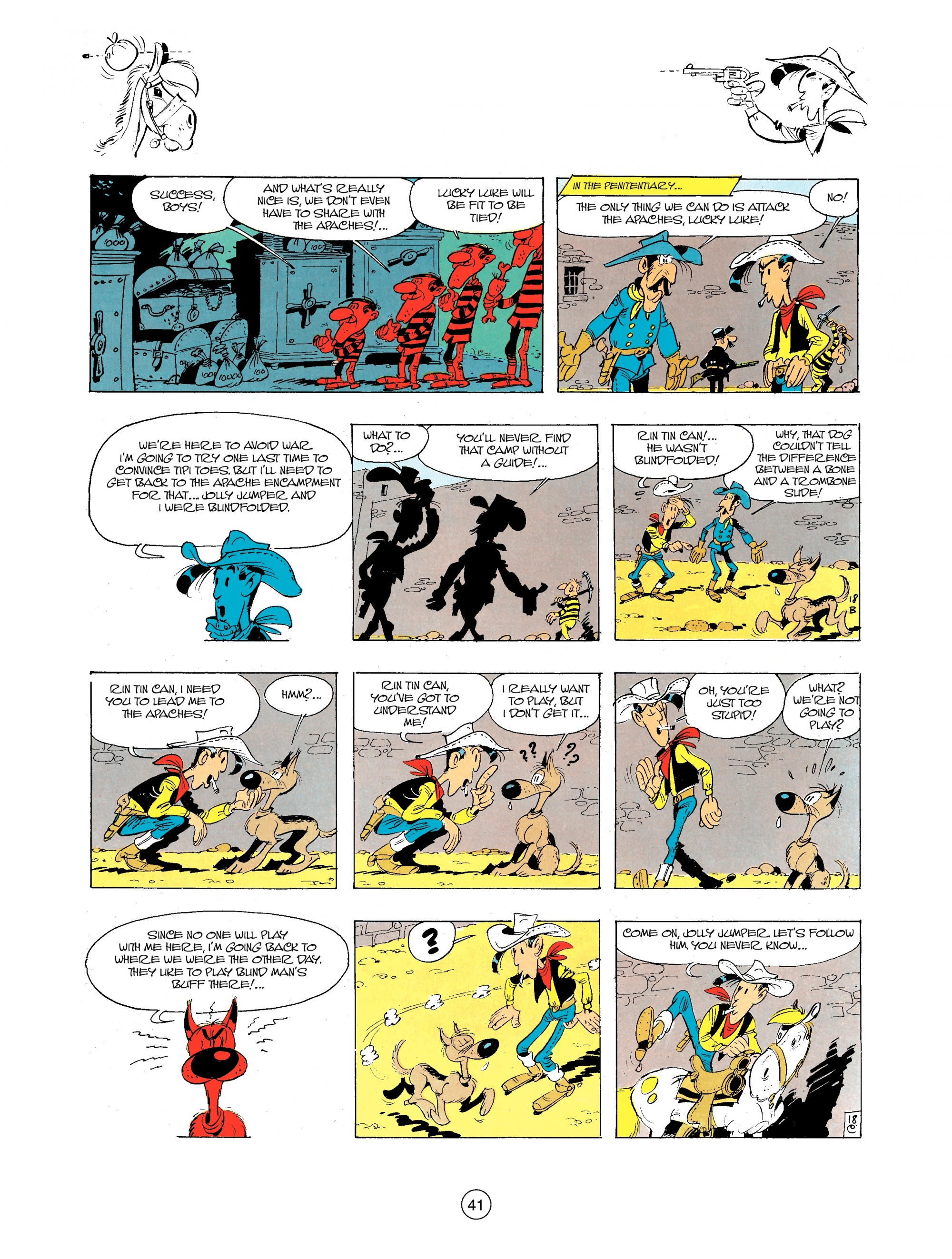 A Lucky Luke Adventure 34 Page 40