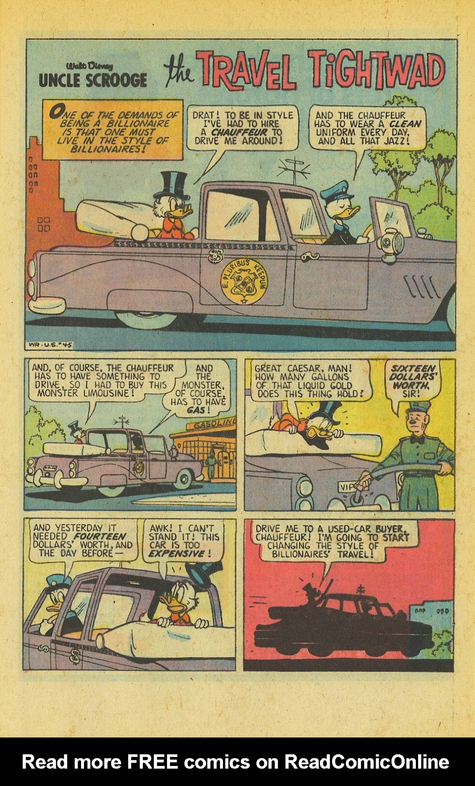 Uncle Scrooge (1953) Issue #139 #139 - English 29
