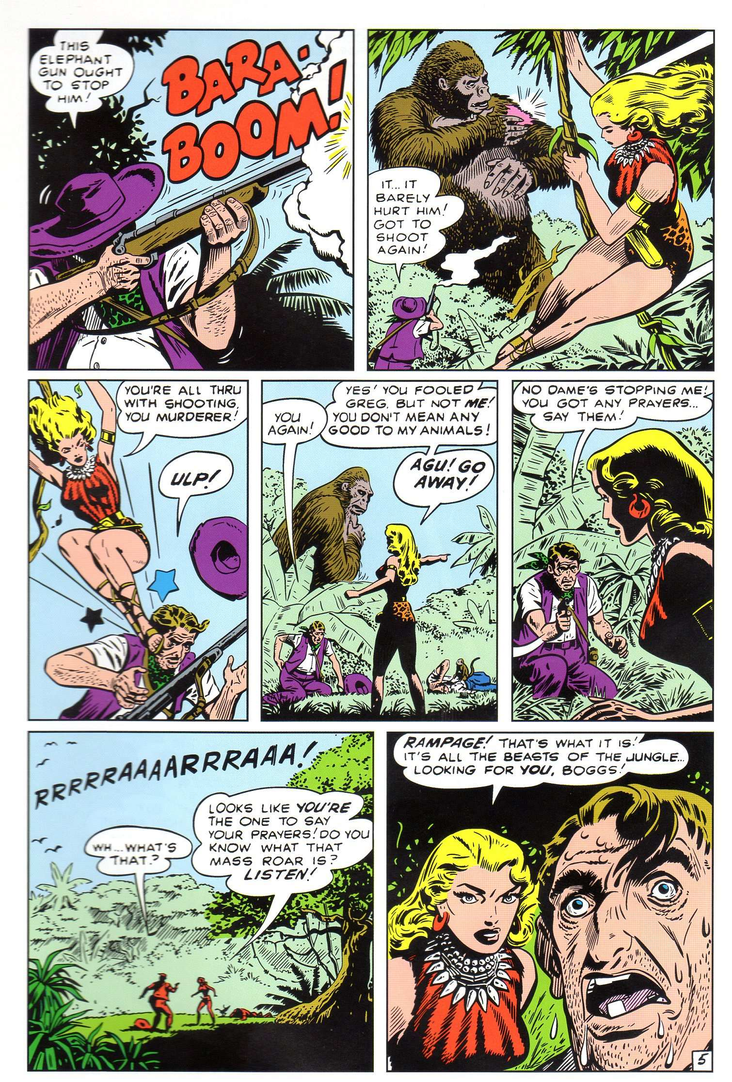 Read online Lorna, The Jungle Queen comic -  Issue #4 - 6